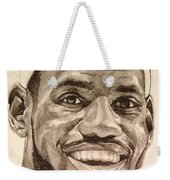 Lebron James Weekender Tote Bag by Tamir Barkan