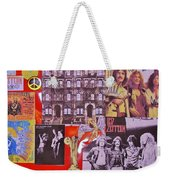 Led Zeppelin  Collage Number Two Weekender Tote Bag