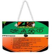 Led Zeppelin Iv Side 1 Weekender Tote Bag