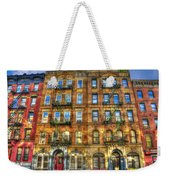 Led Zeppelin Physical Graffiti Building In Color Weekender Tote Bag