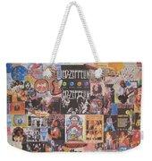 Led Zeppelin Years Collage Weekender Tote Bag