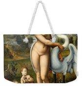 Leda And Swan Weekender Tote Bag