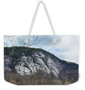 Ledge In New Hampshire Weekender Tote Bag
