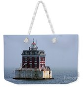 Ledge Light - Connecticut's House In The River  Weekender Tote Bag