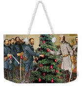 Lee And Grant At Appomattox Weekender Tote Bag