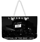 Leesburg Bikefest 2013 Poster Work One Weekender Tote Bag