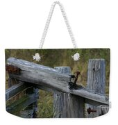 Left Behind At The Marsh Weekender Tote Bag by Denyse Duhaime