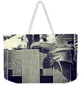Left Behind Weekender Tote Bag