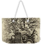 Left Fielder Antique Weekender Tote Bag