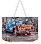 Left Over Hay Weekender Tote Bag
