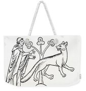 Legend Of The Priest And People Changed Weekender Tote Bag