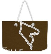 Legendary Races - 1927 Mille Miglia Weekender Tote Bag