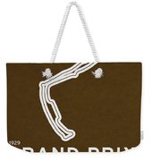 Legendary Races - 1929 Grand Prix De Monaco Weekender Tote Bag