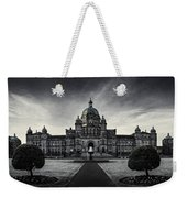 Legislature Building British Columbia Victoria Weekender Tote Bag