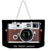 Leica M7 Weekender Tote Bag by Dave Bowman