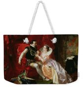 Leicester And Amy Robsart At Cumnor Weekender Tote Bag