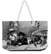 Leif Erickson Cameron Mitchell Mark Slade Attacking Apaches 1 High Chaparral Old Tucson 1969-2009 Weekender Tote Bag