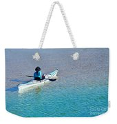Leisure On The Lake Weekender Tote Bag
