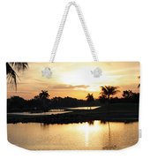 Lely Sunrise Over The Flamingo Weekender Tote Bag