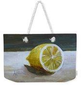Lemon Weekender Tote Bag