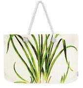 Lemon Daylily Botanical Weekender Tote Bag