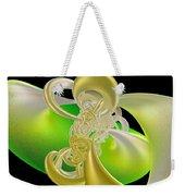 Lemon Lime Twist Weekender Tote Bag