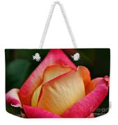 Lemon Raspberry Rosebud Weekender Tote Bag