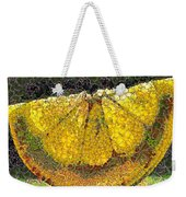 Lemon Slice Weekender Tote Bag