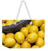 Lemons 01 Weekender Tote Bag
