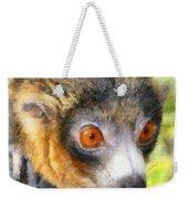 Lemur 004 Weekender Tote Bag