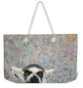 Lemur Weekender Tote Bag by James W Johnson