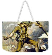 Lend The Way They Fight, 1918 Weekender Tote Bag