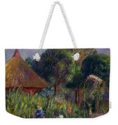Lenna By A Summer House Weekender Tote Bag by William James Glackens