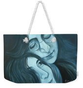 Lennon And Ono Weekender Tote Bag