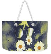 In The Gothic Night With  Stars Weekender Tote Bag
