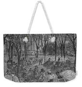 Lenox, Massachusetts, From Historical Collections Of Massachusetts, John Warner Barber, Engraved Weekender Tote Bag