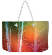 Lens Flare In The Forest Weekender Tote Bag