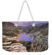 Lenticular Clouds At Canales Lake Weekender Tote Bag