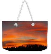 Lenticular Sunrise Weekender Tote Bag