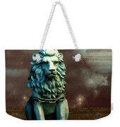 Leo Celestial Weekender Tote Bag