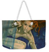 Leo From Zodiac Series Weekender Tote Bag