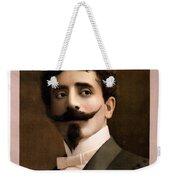Leon Herrmann, French Magician Weekender Tote Bag