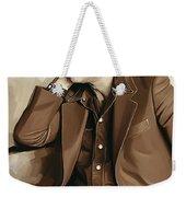 Leonard Cohen Artwork 2 Weekender Tote Bag
