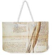 Leonardo: Anatomy, 1510 Weekender Tote Bag