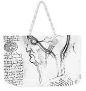 Leonardo: Brain, C1490 Weekender Tote Bag