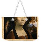 Leonardo Da Vinci 2 Weekender Tote Bag