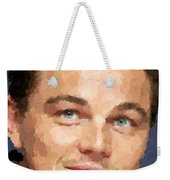 Leonardo Dicaprio Portrait Weekender Tote Bag