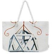 Leonardo Icosahedron Weekender Tote Bag