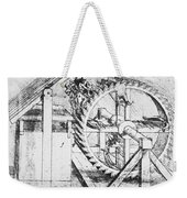 Leonardo: Invention Weekender Tote Bag