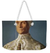 Leonardo Loredan 1436-1521 Doge Of Venice From 1501-21, C.1501 Oil On Panel Weekender Tote Bag